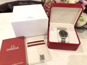 オメガのカッコいい時計!高く売れます!