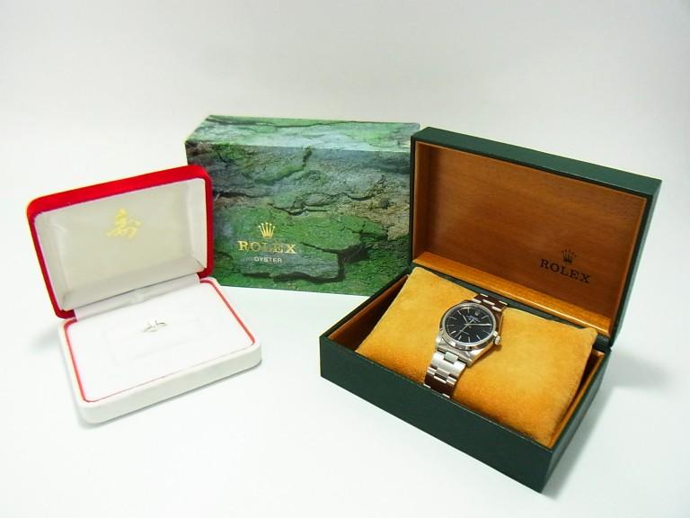 ロレックス エアキング 時計・Pt900 ダイヤ 指輪 買取情報!