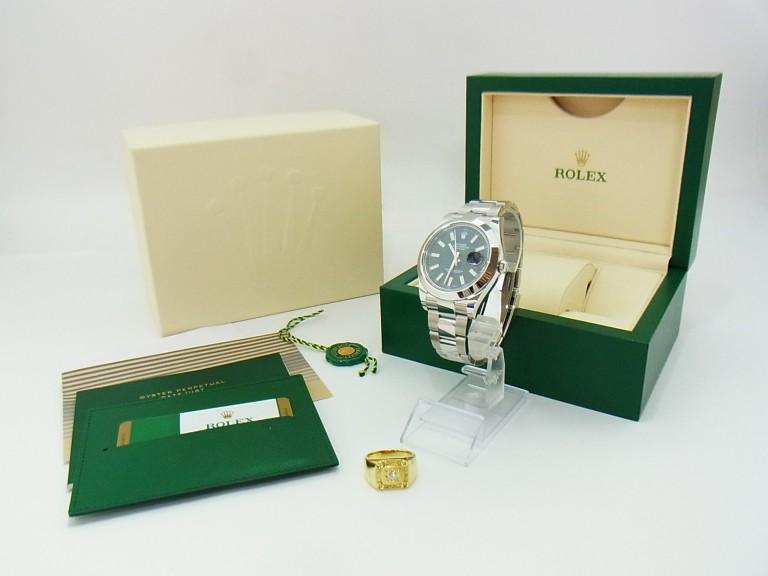 ロレックス デートジャスト 時計・K18 ダイヤ 指輪 買取情報!