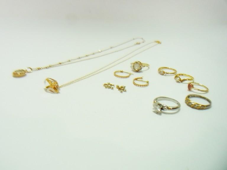 K18 オパール ダイヤ 指輪 ネックレス 買取情報!