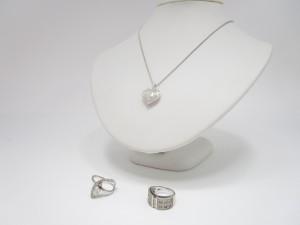 K18WG  ペンダント付ネックレス 指輪 買取情報!