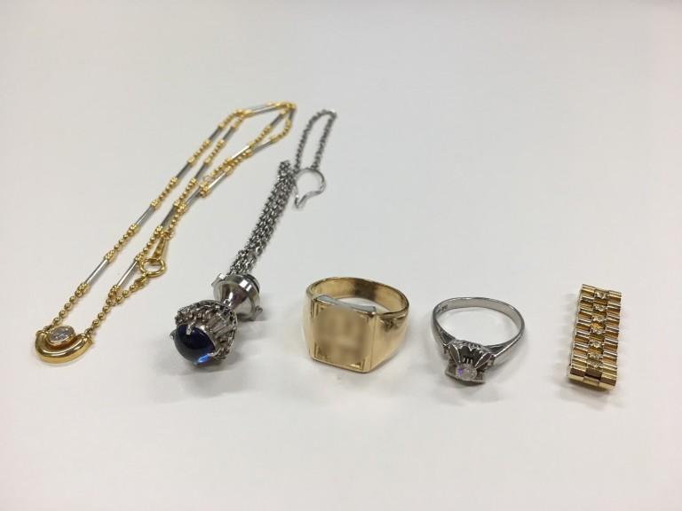K18 Pt900 ネックレス 指輪 カフス ペントップ 買取情報!