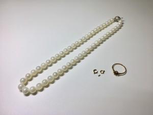 山重質店 真珠ネックレス 18金ネックレス 買取情報!