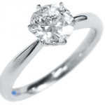 不純物の存在は天然ダイヤの証しです。