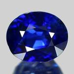 サファイアは青色が鮮やかな宝石です。