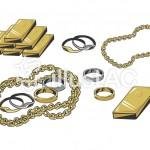 貴金属製品は安定した相場で査定できます。