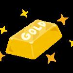 高騰する現在の金の市場相場。