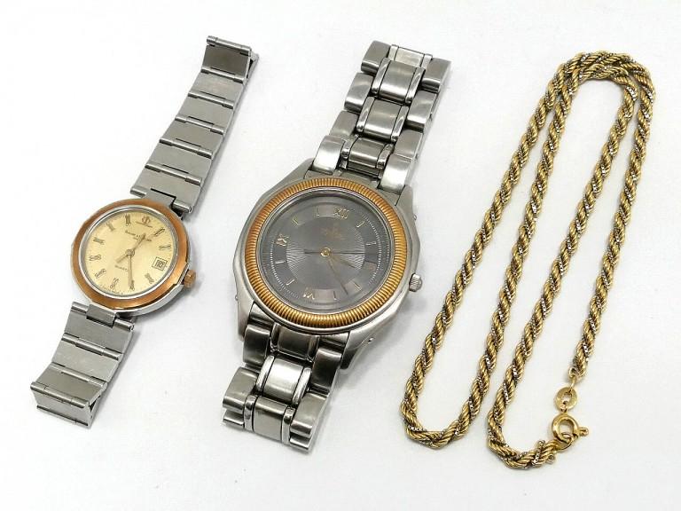 ブランド時計と貴金属の買取です。