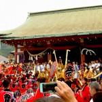 呉市亀山神社 秋祭りにご来場された方へ。